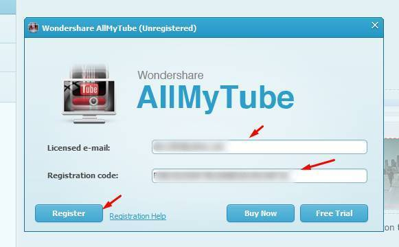 Wondershare AllMyTube 7.5.1.4 Crack With Registration Code 2022 Free